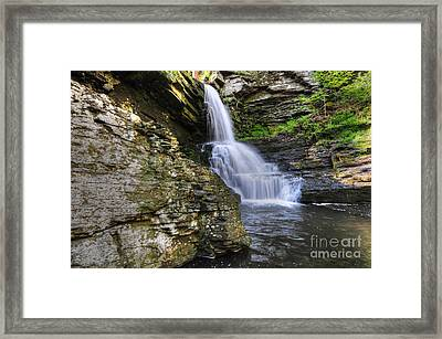 Bridal Veil Waterfalls Framed Print