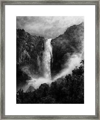 Bridalveil Falls Framed Print by Cat Connor