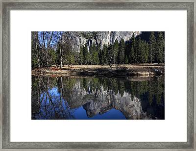 Bridalveil Falls Reflection  Framed Print by Garry Gay