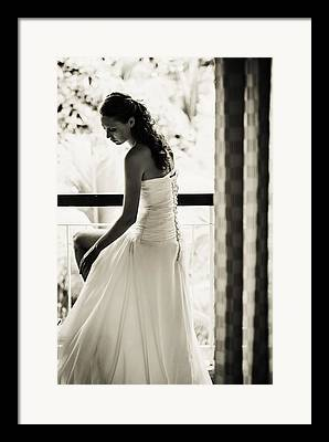 Design Element For Wedding Salon Framed Prints