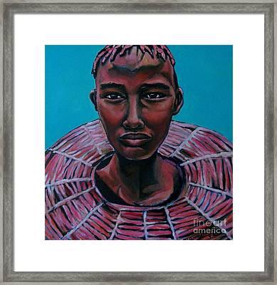 Bride - Portrait African Framed Print
