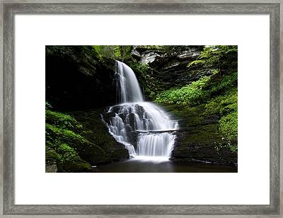 Bridemaid's Falls Framed Print by David Simons