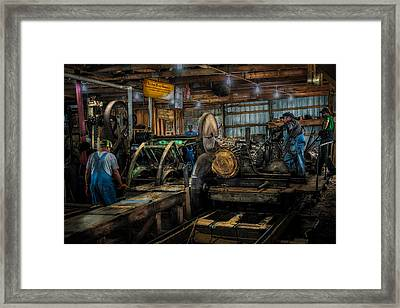 Briden-roen Sawmill Framed Print by Paul Freidlund