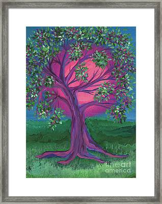 Bridesmaid Tree Framed Print