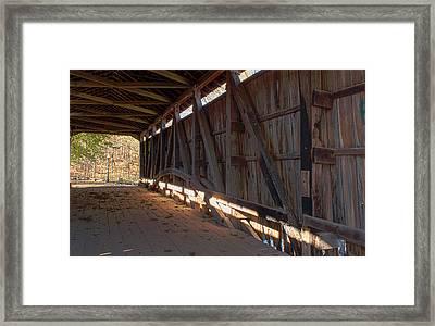 Bridge 38 Framed Print