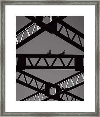 Bridge Abstract Framed Print