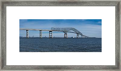 Bridge Across A River, Francis Scott Framed Print by Panoramic Images