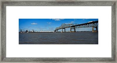 Bridge Across A River, Horace Wilkinson Framed Print by Panoramic Images