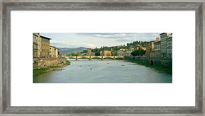 Bridge Across A River, Ponte Alle Framed Print