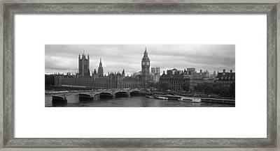 Bridge Across A River, Westminster Framed Print