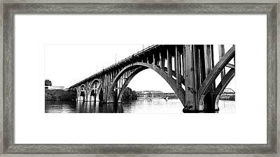 Bridge Across River, Henley Street Framed Print by Panoramic Images