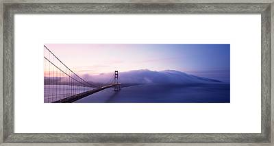 Bridge Across The Sea, Golden Gate Framed Print by Panoramic Images