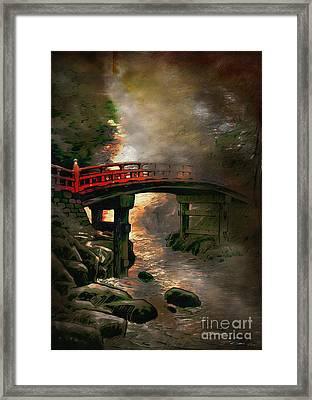 Bridge Framed Print by Andrzej Szczerski