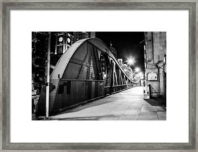 Bridge Arches Framed Print by Melinda Ledsome