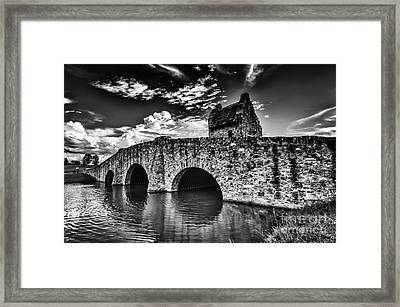 Bridge At Alabama Shakespeare Festival Framed Print