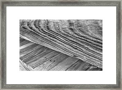Framed Print featuring the photograph Bridge At The Edge Of Nowhere by Phil Mancuso