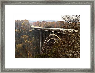 Bridge Framed Print by Blink Images
