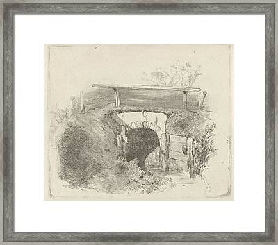 Bridge, Charles Rochussen Framed Print by Artokoloro