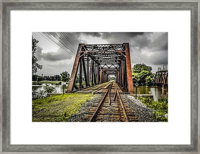 Bridge Framed Print by Chris Smith
