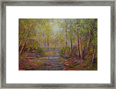Bridge From The Past  Framed Print