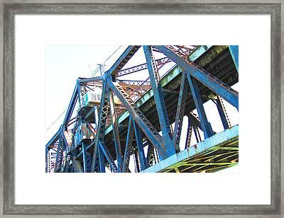 Bridge II Framed Print by Cindi Cereceres