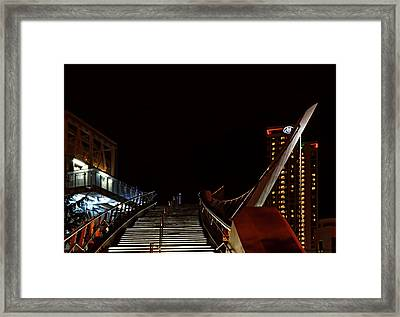 Bridge Into The Night Framed Print by See My  Photos