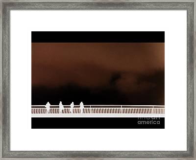Bridge Inversion Framed Print by A K Dayton