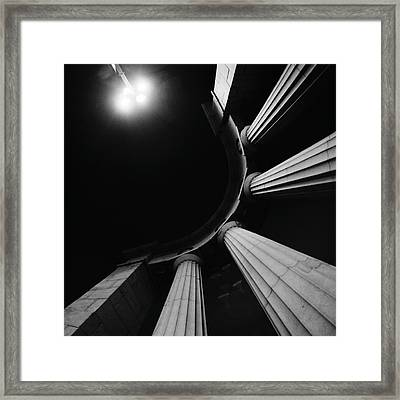 Bridge Framed Print by Ira Gorod