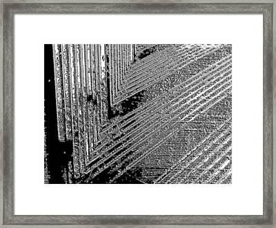 Bridge Framed Print by Jason Michael Roust