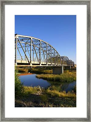 Bridge Framed Print by Jerry Cahill