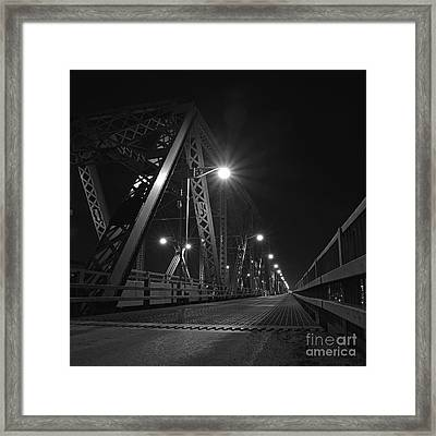 Bridge Night Framed Print