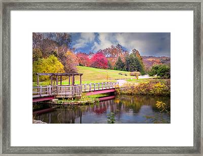 Bridge Of Dreams Framed Print by Mary Timman