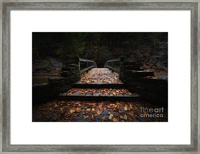 Bridge Of Gold Framed Print by Michael Ver Sprill