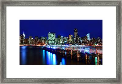 Bridge Of Lights Framed Print