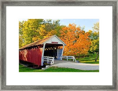 Bridge Of Madison County Framed Print