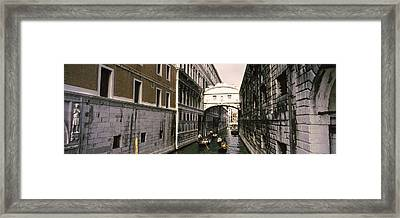 Bridge Of Sighs, Venice, Veneto, Italy Framed Print by Panoramic Images