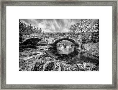 Bridge Over Llugwy Framed Print