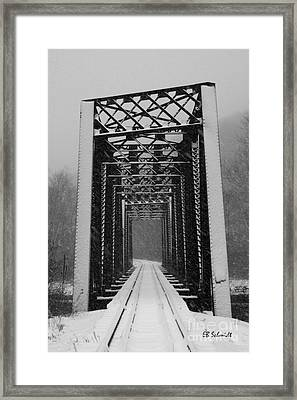 Bridge Over Oil Creek Framed Print
