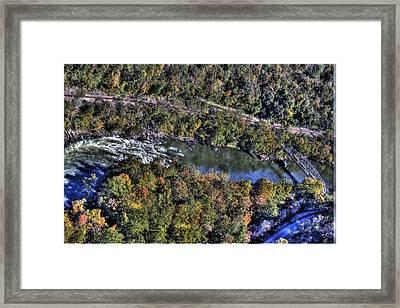 Bridge Over River Framed Print by Jonny D