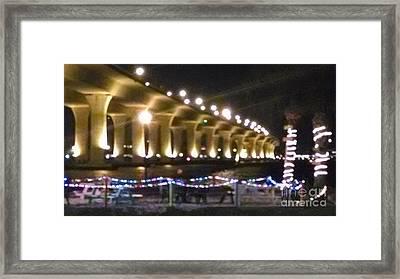 Bridge Over St. Lucie River I Framed Print by Michael Penn