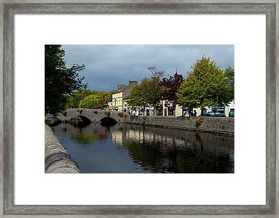Bridge Over The River Carrowbeg Framed Print by Panoramic Images