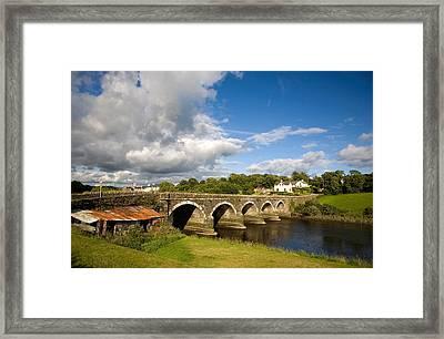Bridge Over The River Ilen Framed Print