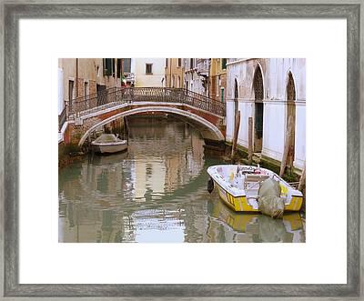 Bridge Over Untroubled Waters Framed Print by Bishopston Fine Art