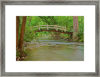 Bridge Over Valley Creek Framed Print