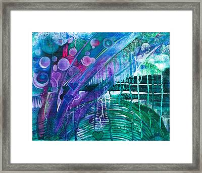 Bridge Park Framed Print