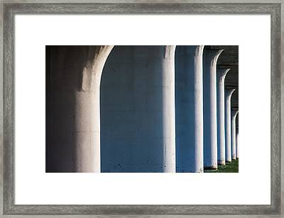 Bridge Patterns 1 Framed Print