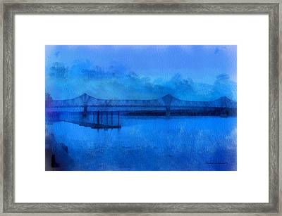 Bridge Photo Art 01 Framed Print by Thomas Woolworth