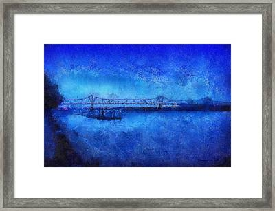 Bridge Photo Art 02 Framed Print by Thomas Woolworth