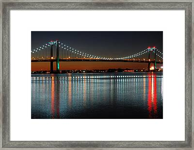 Suspended Reflections Framed Print by James Kirkikis