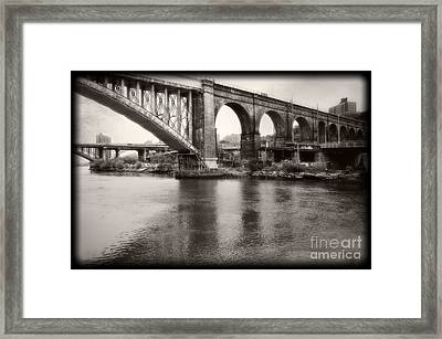 Bridge Reflections Framed Print by Paul Cammarata